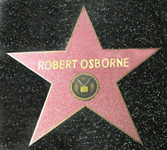 Robert Osborne Star of Fame
